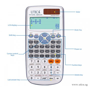 Solar Science Calculator by UTICA®