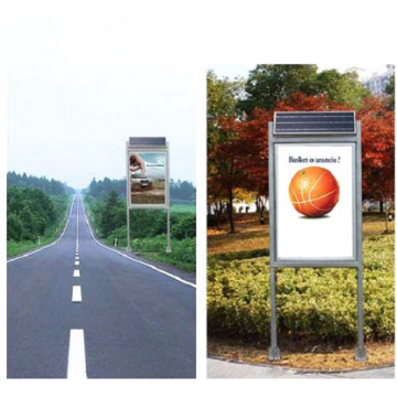 35W Solar Advertisement Board by UTICA®