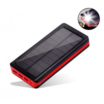 Element 20-RBT Solar Powered Charger – 20000mAh by UTICA®