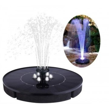 UTICA® Solar Pump Fountain-with LED