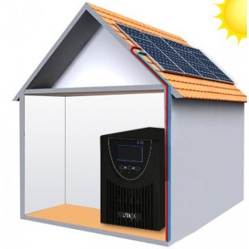 6.8m² Roof Surface Area Required. For UTICA® MobileGrid Generator 1000-1000 (Off-Grid Solution)