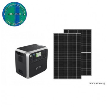 3.4m² Roof Surface Area Required. For UTICA® MobileGrid Solar Generator 600-1500 (Off-Grid Solution)