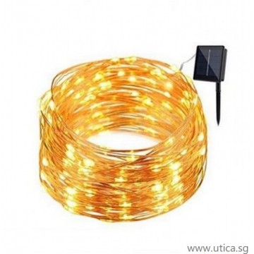 UTICA® Solar Copper Wire Lights