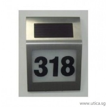 UTICA® Door plate Light-40MA