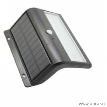 UTICA® Solar Outdoor Wall Lamp 6W
