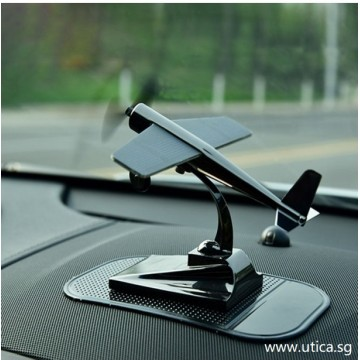 Automobile Toys Solar Rotating Aircraft Auto Decoration by UTICA®