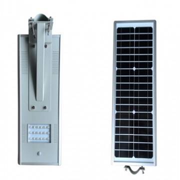 UTICA® Integration of solar street light 50-25