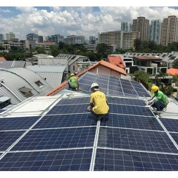 8 Hours of On-Site Technical Support and Installation Works for a Standard Solar Energy System, Service Provided by SOLARGAGA (only for Singapore)